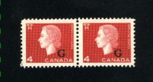 C  O48 -2  pair Mint  NH VF 1963 PD