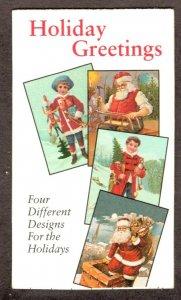 BK233  Santa & Children. 32¢ Complete Booklet of 20⭐⭐⭐⭐⭐⭐