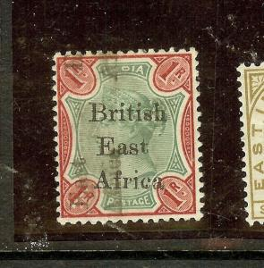 BRITISH EAST AFRICA (P3010B) QV ON INDIA  1R  SG60D  MOG