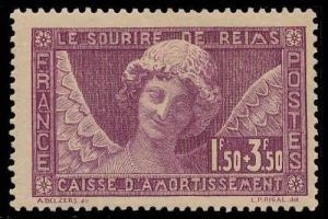 FRANCE-a-e-SEMI POSTAL ISSUES (to B190) B34  Mint (ID # 87777)