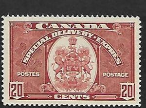 CANADA, E8, MINT HINGED, ARMS OF CANADA