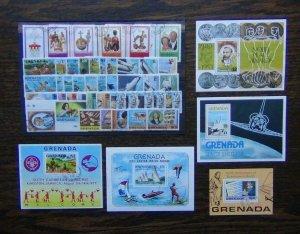 Grenada 1977 Water Jubilee Scouts 1978 Beethoven Rubens Space Nobel Used