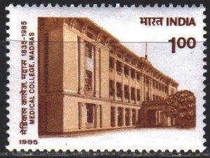 India. 1985. 1016. Madras College of Medicine. MNH.