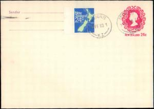 New Zealand, Postal Stationery