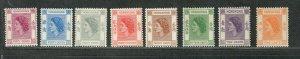 Hong Kong Sc#185-192 M/NH/VF, Cv. $40.35