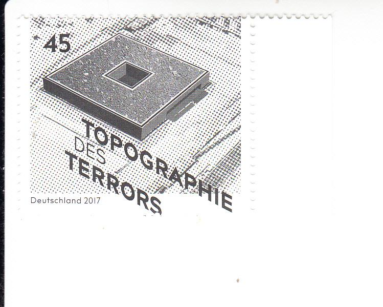2017 Germany Topography of Terrors Museum  (Scott 2945) MNH
