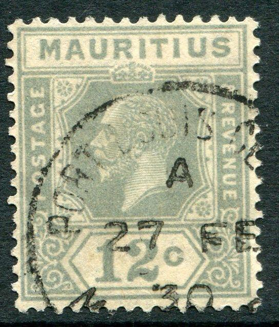 MAURITIUS ~ #188 Nice Used Issue with CDS KING GEORGE V ~ S5483