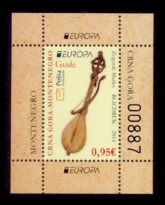 Montenegro Sc# 360a MNH Europa 2014 (S/S)