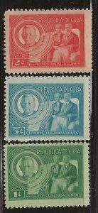 CUBA  SC #  407 - 9    MLH