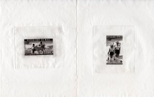 Mali 1976 Sc#C284/C286 SCOUTS First African Scout Jamboree 3 Die Proofs MNH
