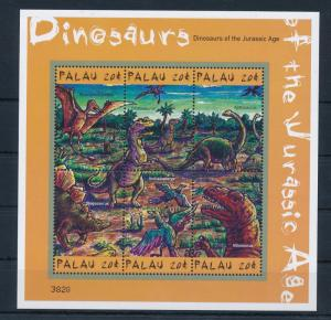 [35183] Palau 2000 Pre Historic Animals Dinosaurs MNH Sheet