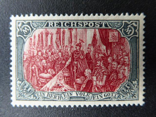 German Empire  1900   Sc.#65d  APS. certificate CV.$1,450.00