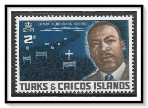 Turks & Caicos #178 Martin Luther King MNH