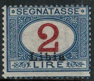 Libya 1915 SC J9 Mint