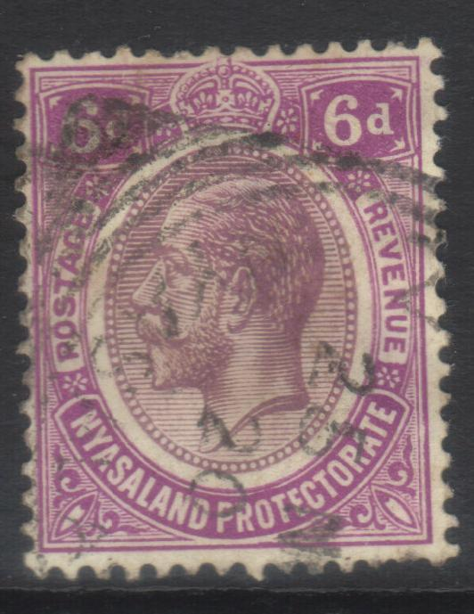 NYASALAND 1913-1921 MCCA SG92 USED CAT £10