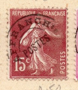 France 1920s PRE CANCELS Early Issue Fine Used 15c. NW-17111