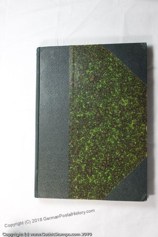 Morleys Philatelic Journals Vol 1-6 Leather Bound 43839