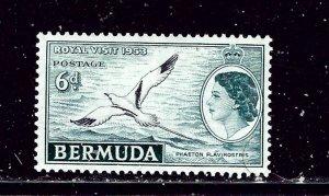 Bermuda 163 MH 1953 Royal Visit