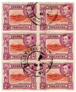 (I.B) KUT Postal : Mount Kilimanjaro 2/- (Registered Post)
