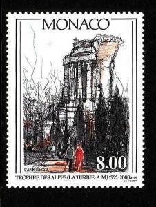 D1-Monaco-Sc#1951-unused NH set-Alps Monument-1995-