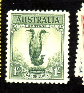 AUSTRALIA #141 MINT F-VF OG HR Cat $43