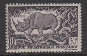 French Equatorial Africa Sc#167 MNH