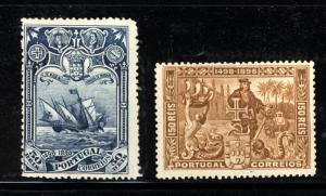 Portugal Scott 151,154 Mint Hinged