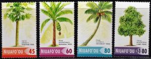 Tonga - Niuafo'ou 255-58 - Mint-NH - Fruit Trees (2004) (cv $5.50)