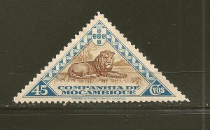 Mozambique Company 182 Lion Triangle Mint Hinged