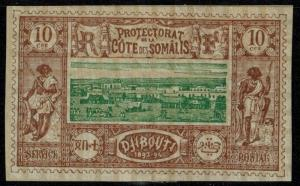 Somali Coast #11 M/H 25% of SCV $17.50 **FREE SHIPPING**
