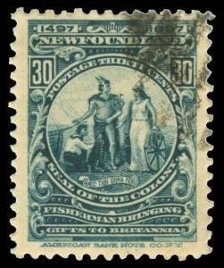 Canada / Newfoundland Scott 61-74 Gibbons 66-79 Used Set of Stamps
