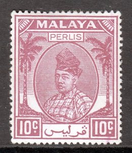 Malaya (Perlis) - Scott #13 - MH - SCV $1.25