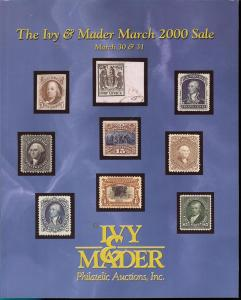 Ivy & Mader: Sale #   -  The March 2000 Sale, Ivy & Mader...