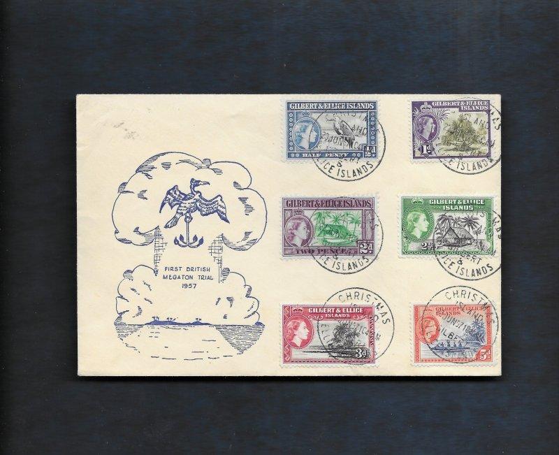 CHRISTMAS ISLAND 1957 MEGATON TRIAL COVER