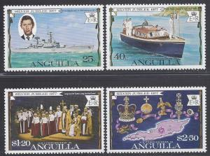 Anguilla #271-274 Set of 4 1977 Mint NH