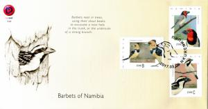 Namibia - 2017 Barbets Birds FDC