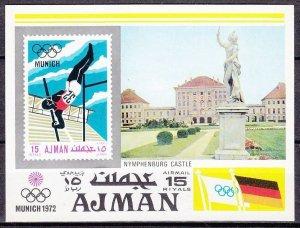 1971 Ajman 746/B247 1972 Olympic Games in Munchen 8,00 €