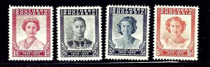 Southern Rhodesia 67-70 MLH 1947 Victory Issue complete    (ap1116)