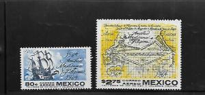 MEXICO, C300-C301, MNH, MEXICAN-PHILIPPINE FRIENDSHIP
