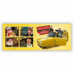 2021  - ONLY FOOLS AND HORSES - MINI SHEET - UNMOUNTED MINT