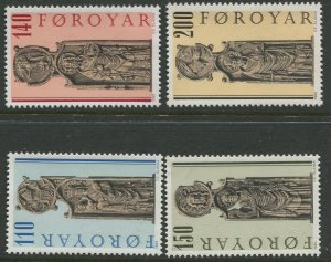 STAMP STATION PERTH Faroe Is. #55-58 Pictorial Definitive Issue MNH 1980 CV$2.00