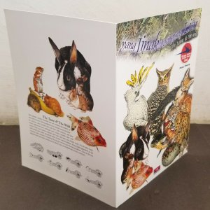 Malaysia Tame And The Wild 2002 Owl Cat Leopard Bird Rabbit (folder) *limited