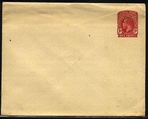 SIERRA LEONE GV 1d envelope, fine unused...................................19371