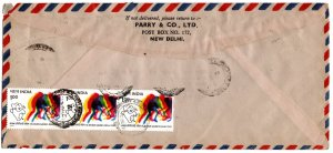India 1981 Cover with Asian Games 1r (see descr.)