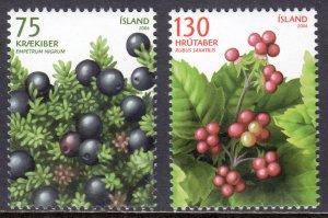 Iceland - Scott #1082-1083 - MNH - SCV $6.00