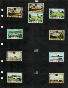 St Lucia Selection of 63 Stamps/3 Sheets MH/MNH (SCV $23.70) Starting at 5%