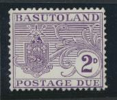 Basutoland  Postage Due  SG D4  Mint Hinged