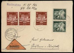 Germany 1943 Luebeck 800th Anniversary Issue COD Cover 71820