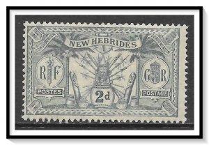New Hebrides - British #19 Native Idols MH