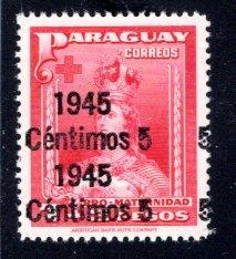 Paraguay #432, Error – Doulbe Overprint,   MNH ...  4910309